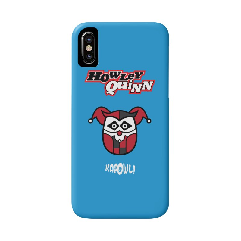 Howley Quinn Accessories Phone Case by Ian J. Norris