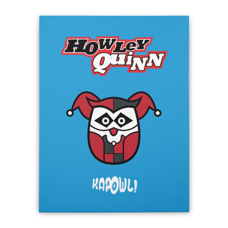 Howley Quinn Home Stretched Canvas by Ian J. Norris