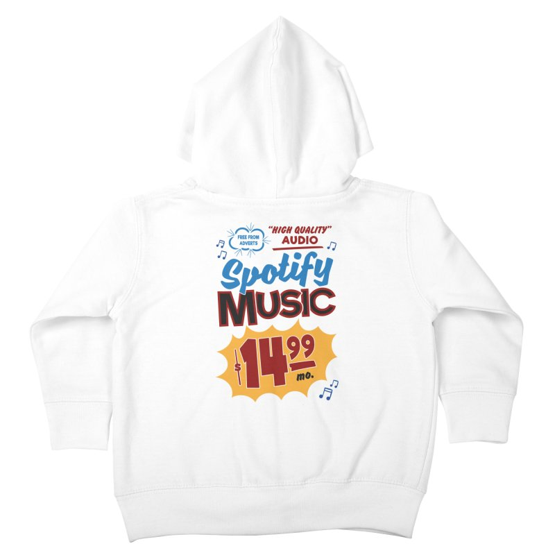 Spotify Sign Kids Toddler Zip-Up Hoody by Ian J. Norris