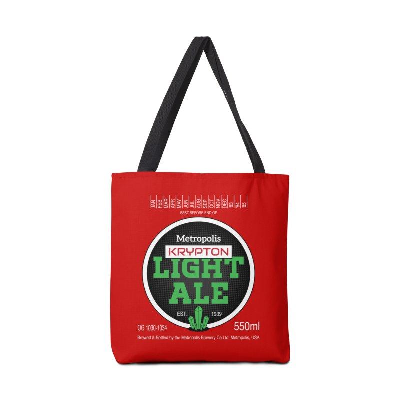 Metropolis Krypton Light Ale Accessories Bag by Ian J. Norris