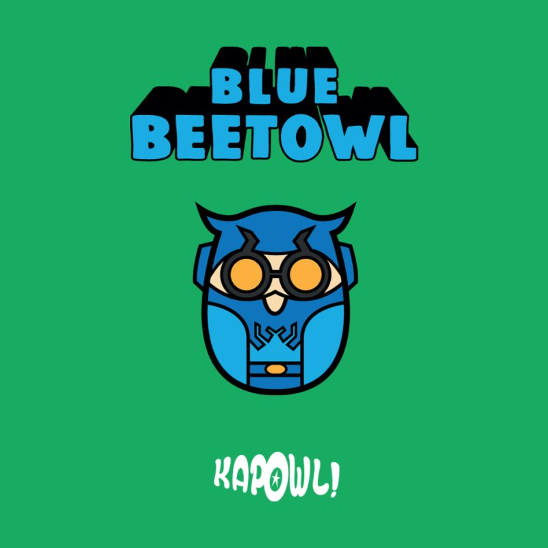 Blue Beetowl Men's Zip-Up Hoody by Ian J. Norris