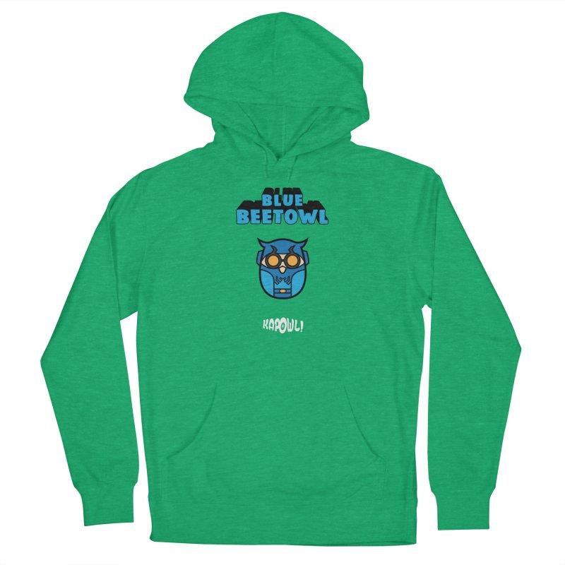 Blue Beetowl Women's Pullover Hoody by Ian J. Norris