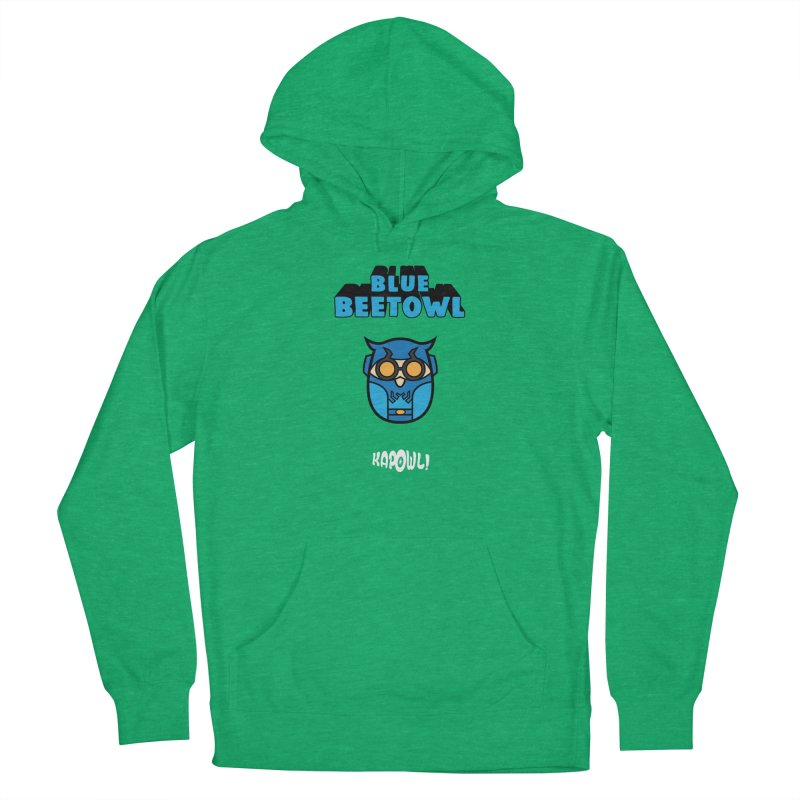 Blue Beetowl Men's French Terry Pullover Hoody by Ian J. Norris