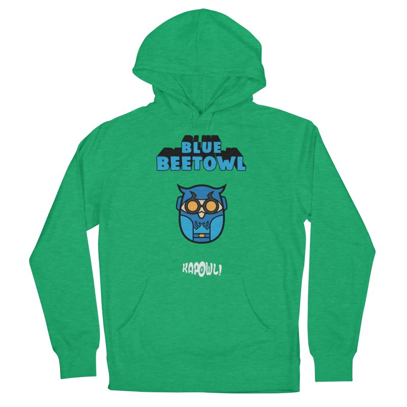 Blue Beetowl Women's French Terry Pullover Hoody by Ian J. Norris