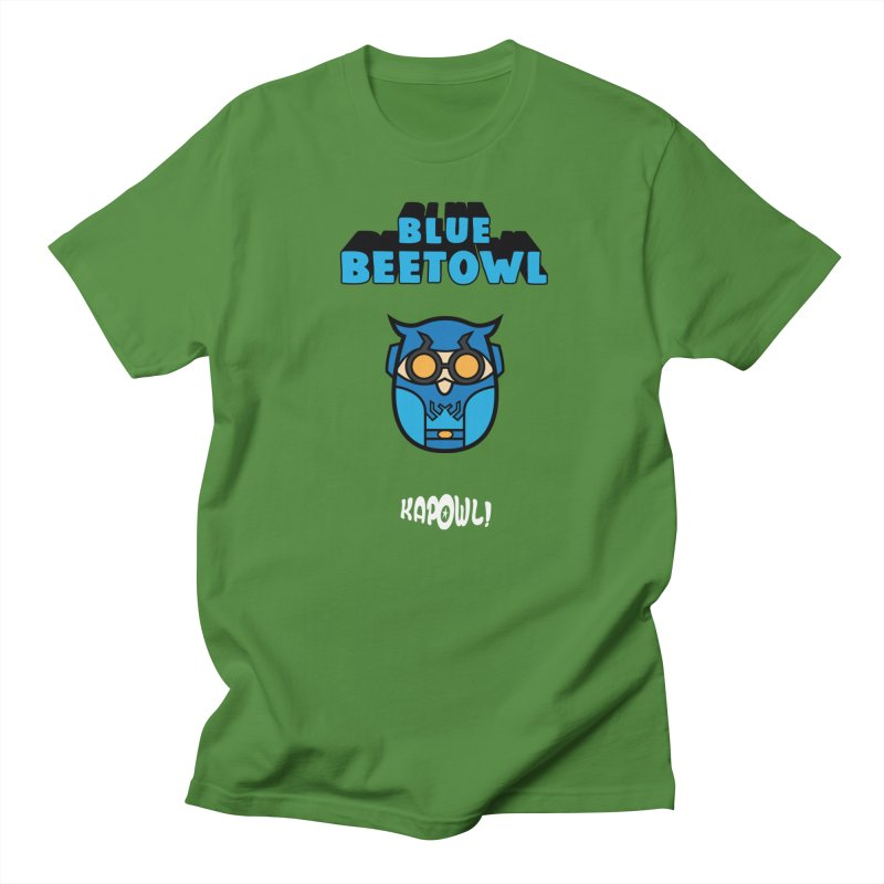 Blue Beetowl Men's T-Shirt by Ian J. Norris