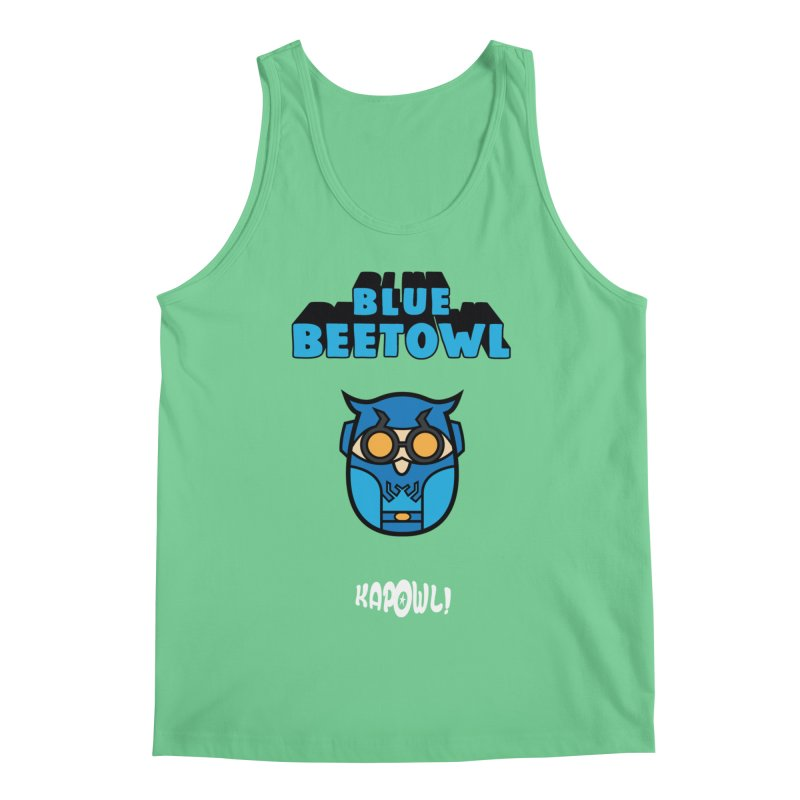 Blue Beetowl Men's Regular Tank by Ian J. Norris