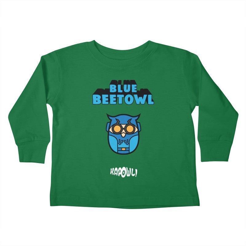 Blue Beetowl Kids Toddler Longsleeve T-Shirt by Ian J. Norris
