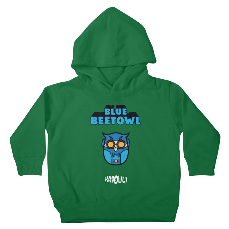 Blue Beetowl Kids Toddler Pullover Hoody by Ian J. Norris