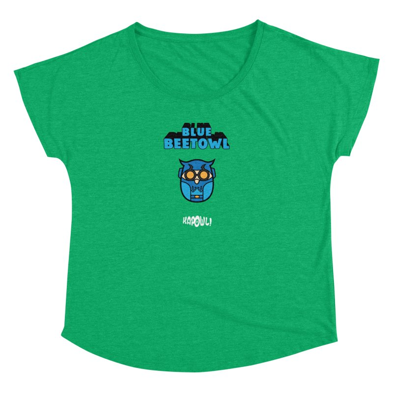 Blue Beetowl Women's Scoop Neck by Ian J. Norris