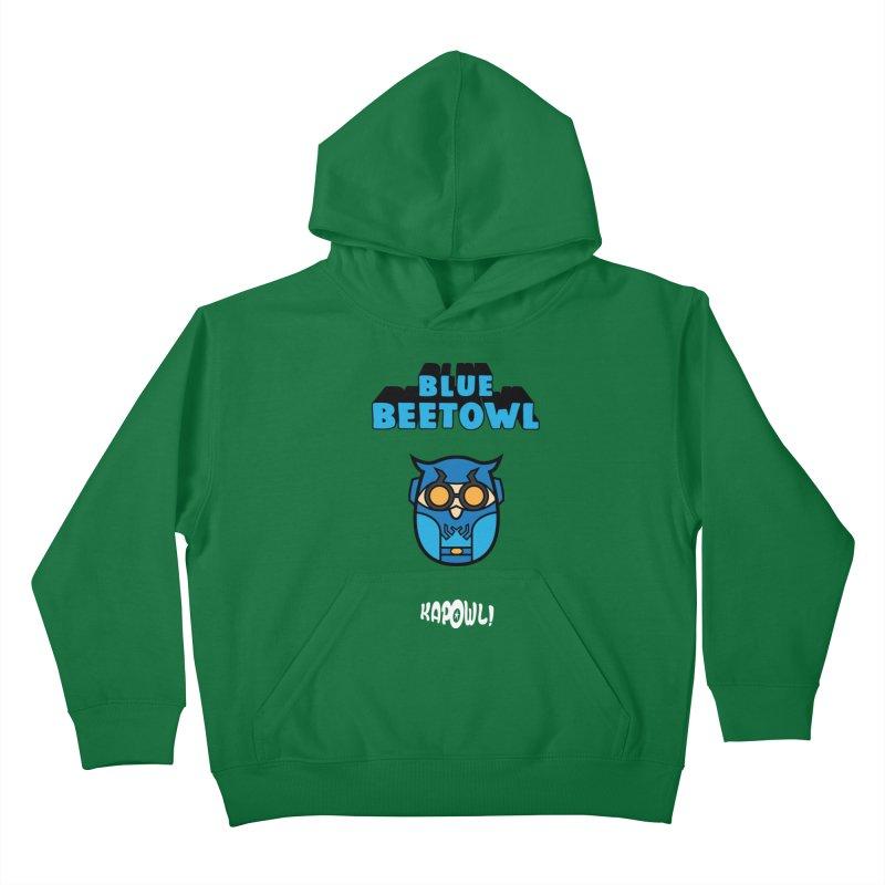 Blue Beetowl Kids Pullover Hoody by Ian J. Norris