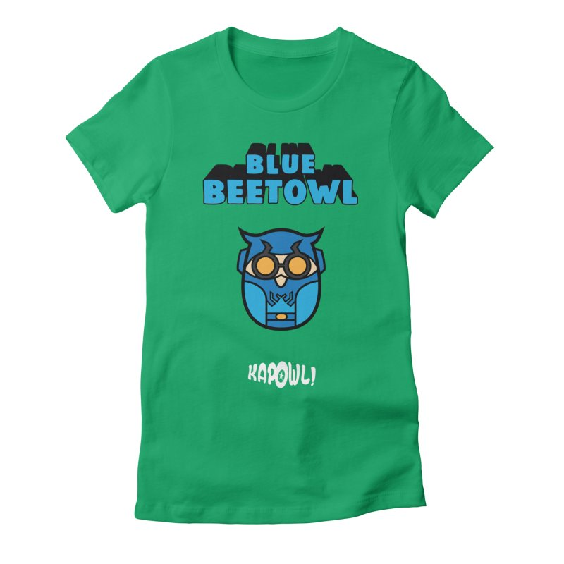 Blue Beetowl Women's Fitted T-Shirt by Ian J. Norris