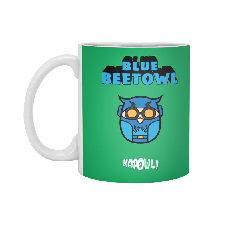 Blue Beetowl Accessories Mug by Ian J. Norris