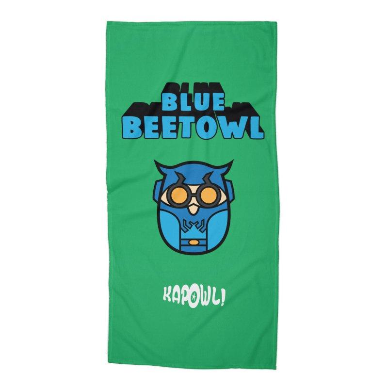 Blue Beetowl Accessories Beach Towel by Ian J. Norris