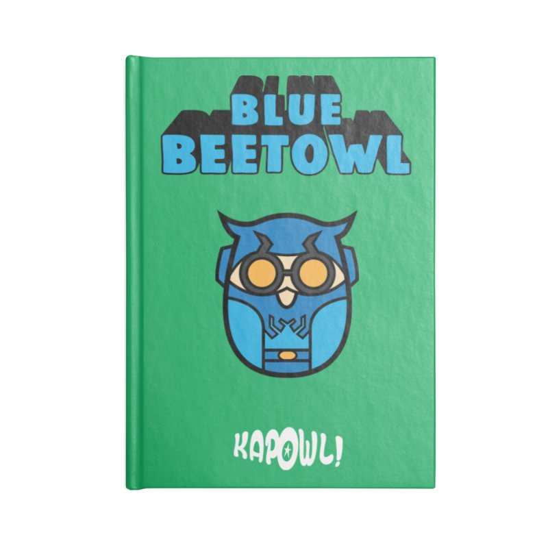 Blue Beetowl Accessories Blank Journal Notebook by Ian J. Norris