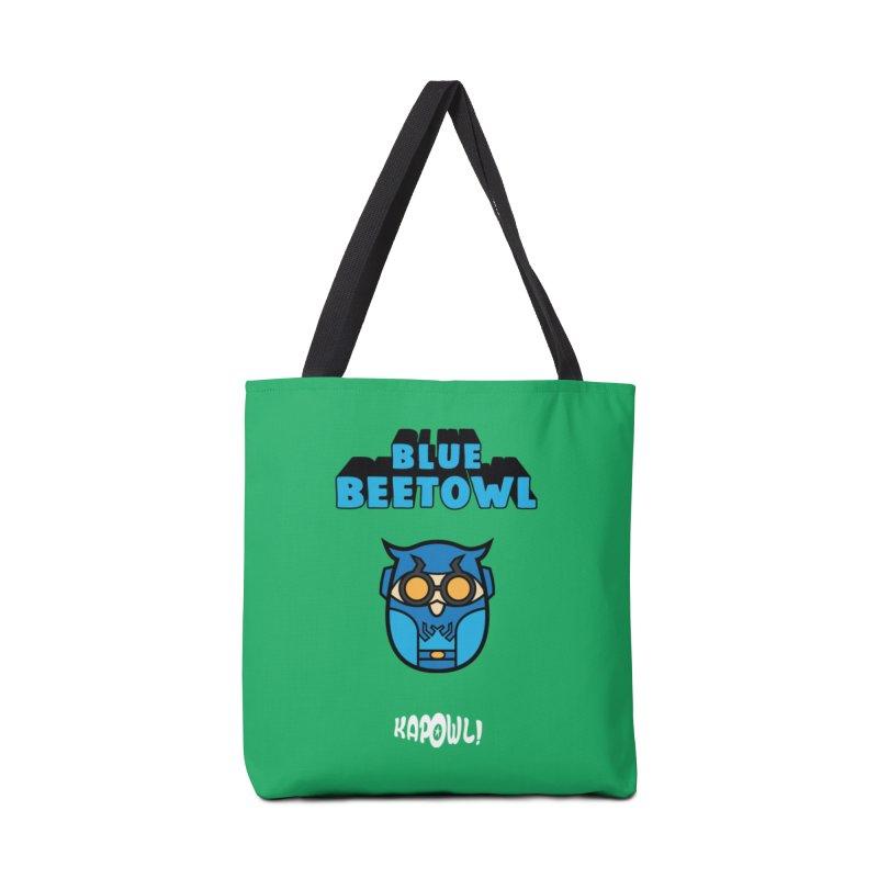 Blue Beetowl Accessories Bag by Ian J. Norris
