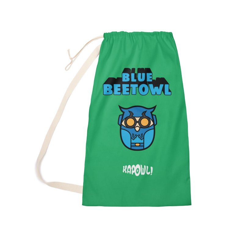 Blue Beetowl Accessories Laundry Bag Bag by Ian J. Norris