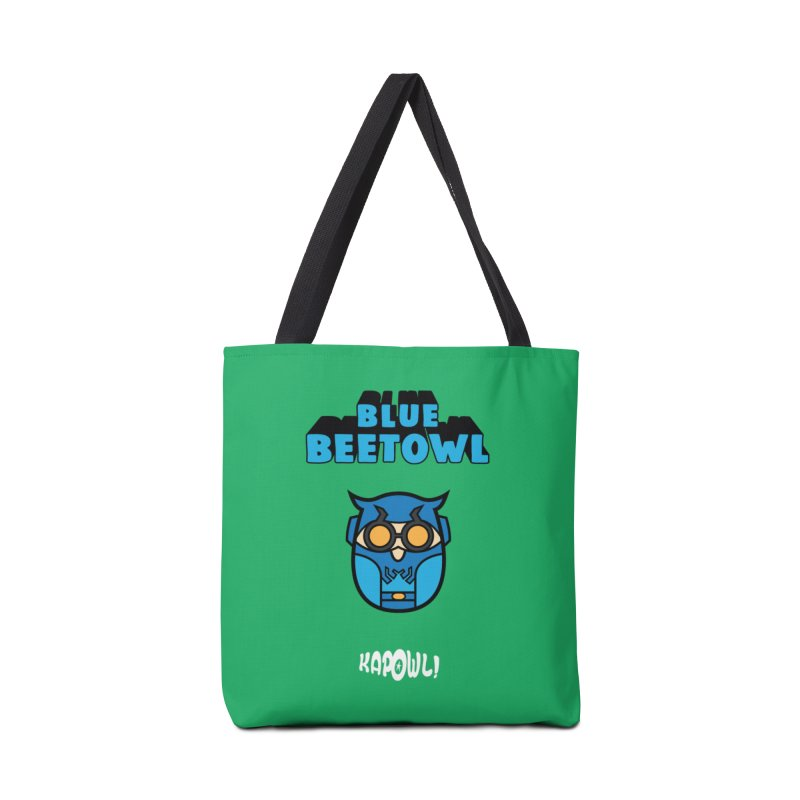 Blue Beetowl Accessories Bag by Ian J. Norris
