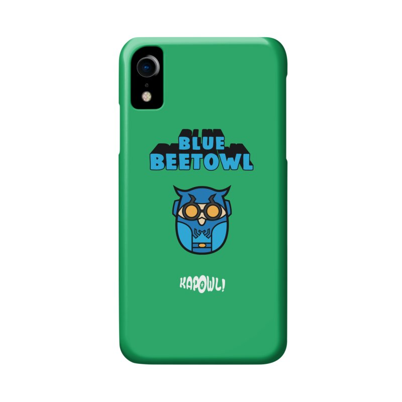 Blue Beetowl Accessories Phone Case by Ian J. Norris