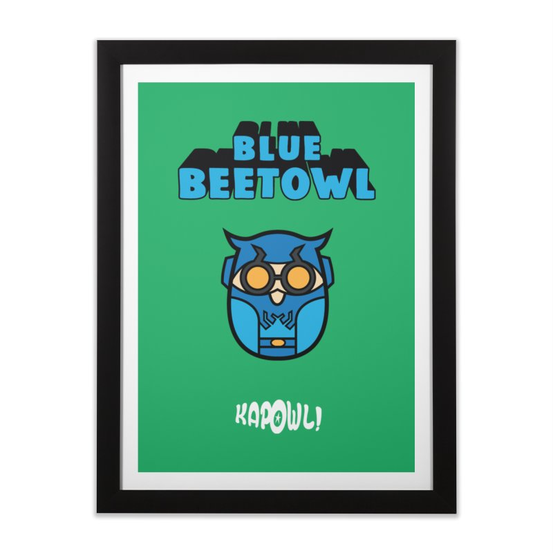 Blue Beetowl Home Framed Fine Art Print by Ian J. Norris