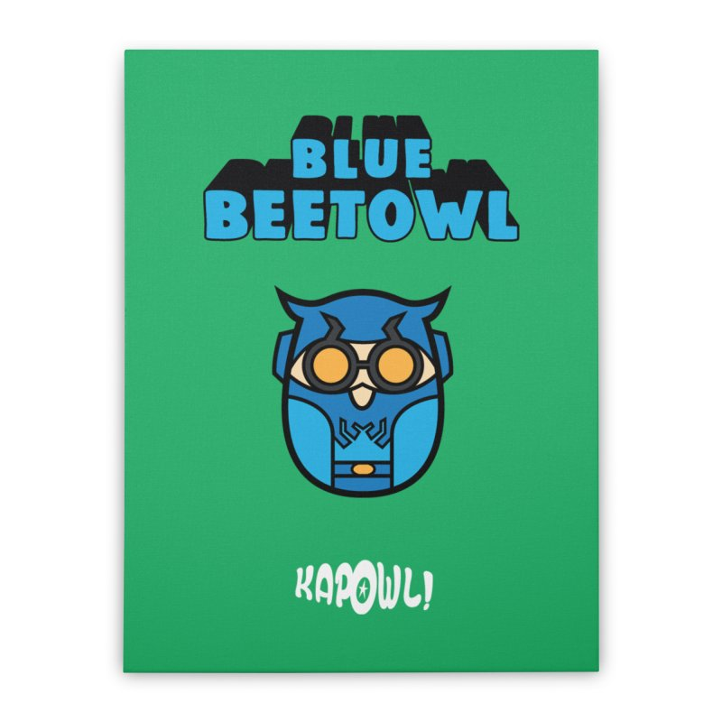 Blue Beetowl Home Stretched Canvas by Ian J. Norris