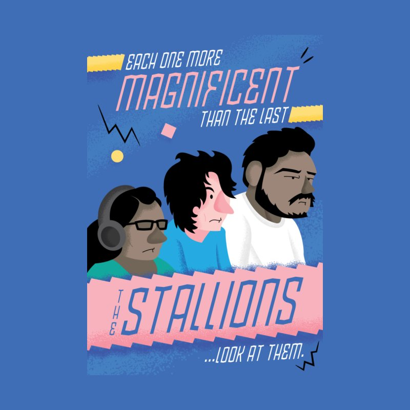 The Stallions Kids T-Shirt by Ian J. Norris