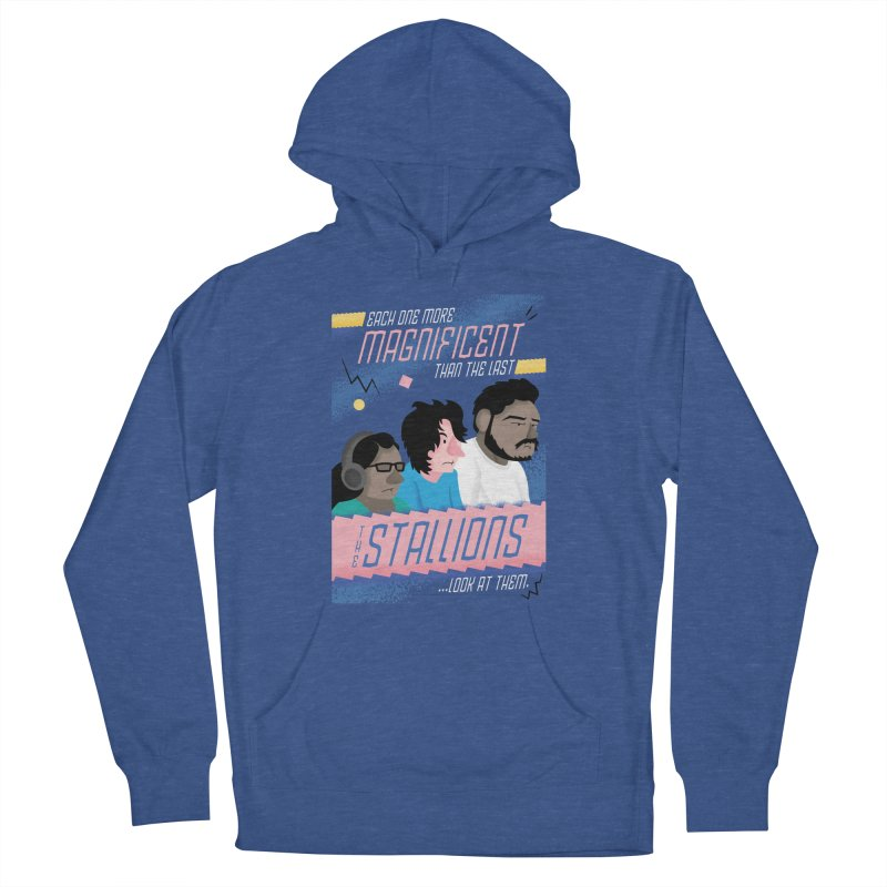 The Stallions Women's Pullover Hoody by Ian J. Norris