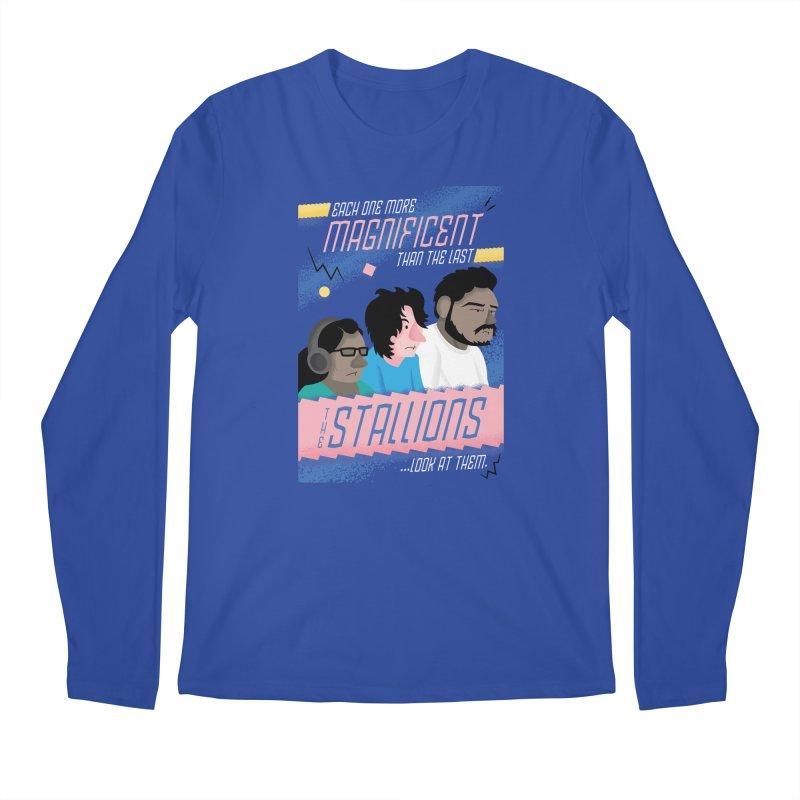The Stallions Men's Longsleeve T-Shirt by Ian J. Norris