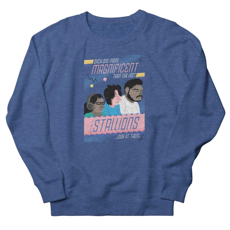 The Stallions Women's Sweatshirt by Ian J. Norris