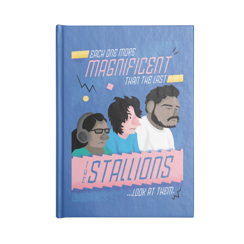 The Stallions Accessories Notebook by Ian J. Norris