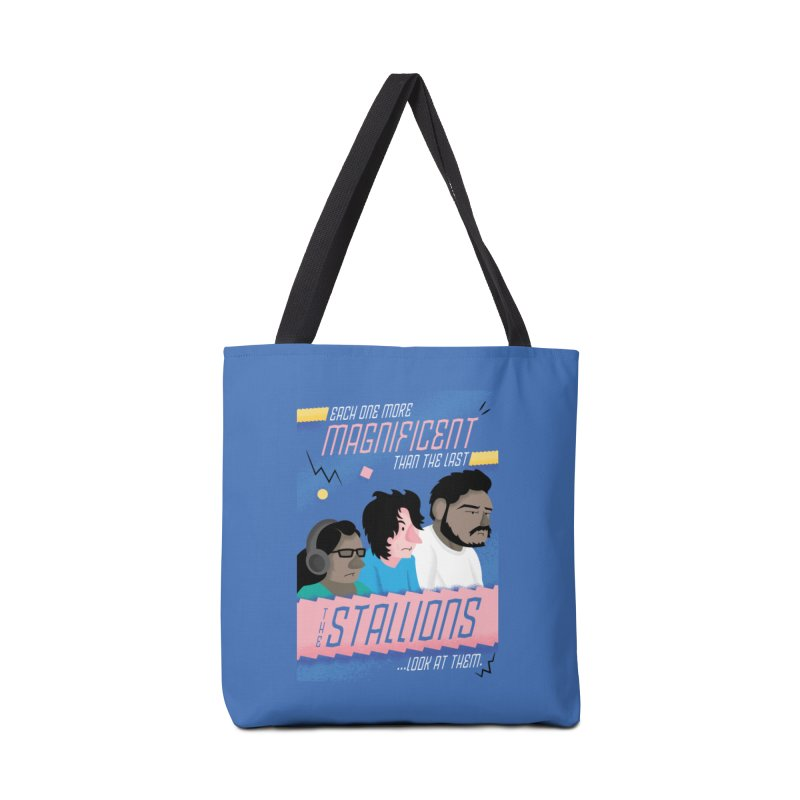 The Stallions Accessories Tote Bag Bag by Ian J. Norris