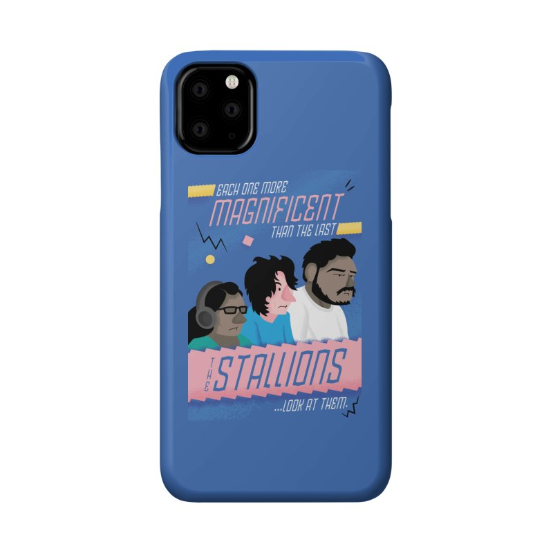The Stallions Accessories Phone Case by Ian J. Norris