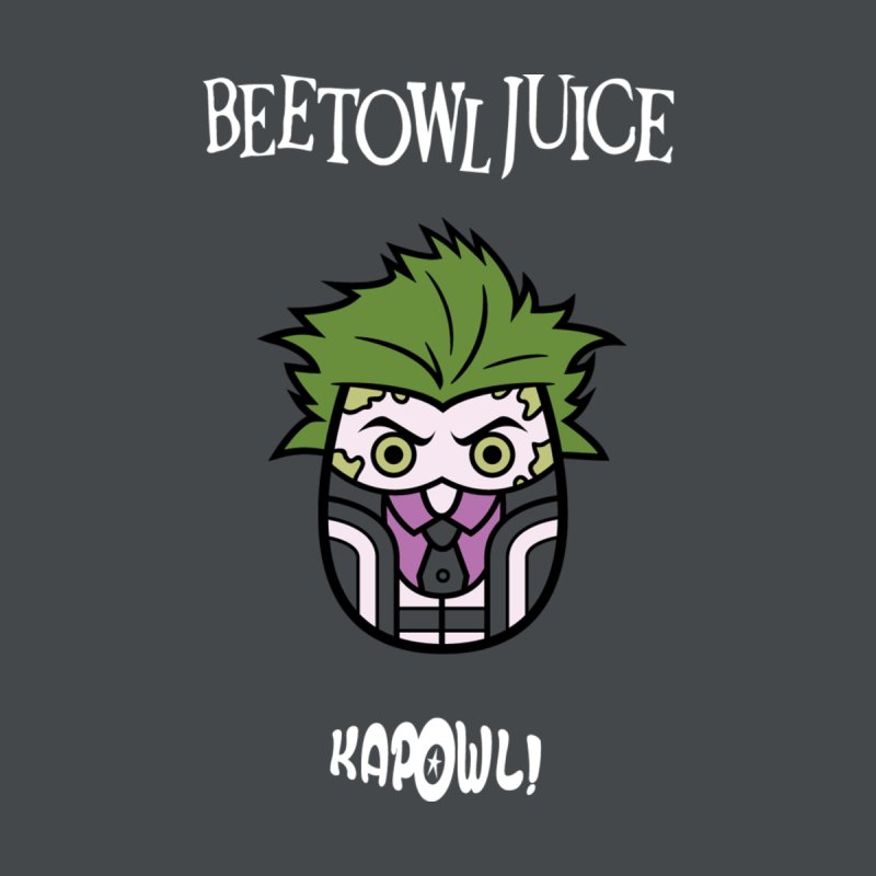 Beetowljuice Kids T-Shirt by Ian J. Norris