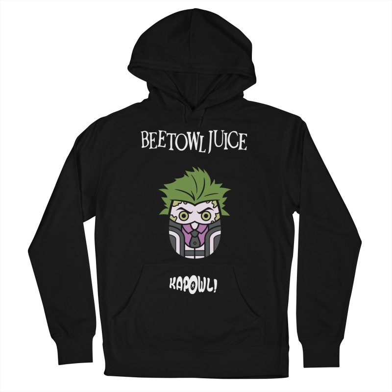 Beetowljuice Men's French Terry Pullover Hoody by Ian J. Norris