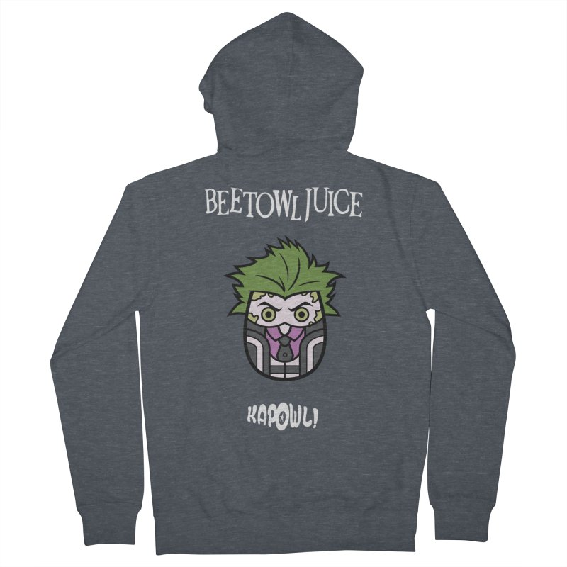 Beetowljuice Women's Zip-Up Hoody by Ian J. Norris