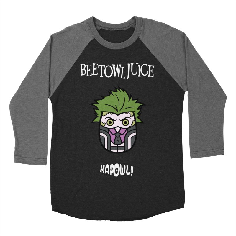 Beetowljuice Women's Baseball Triblend Longsleeve T-Shirt by Ian J. Norris