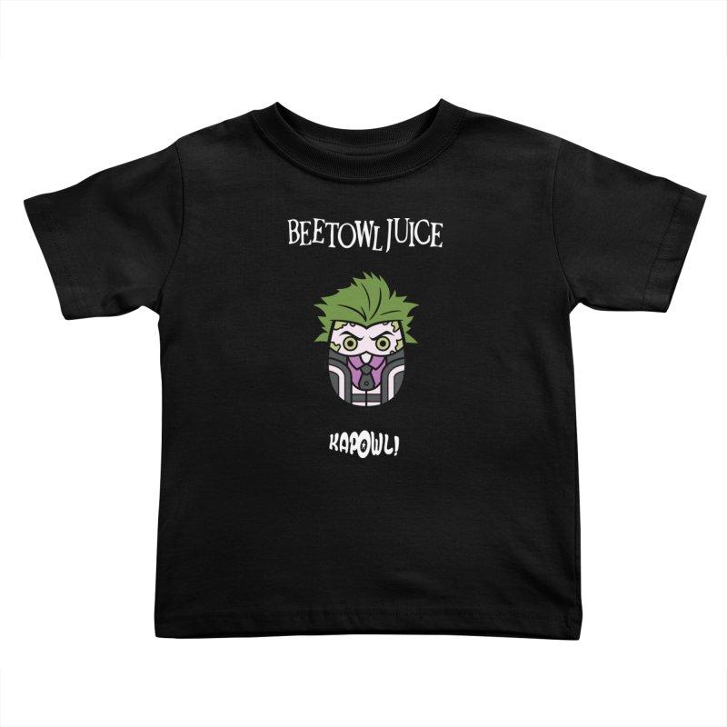 Beetowljuice Kids Toddler T-Shirt by Ian J. Norris