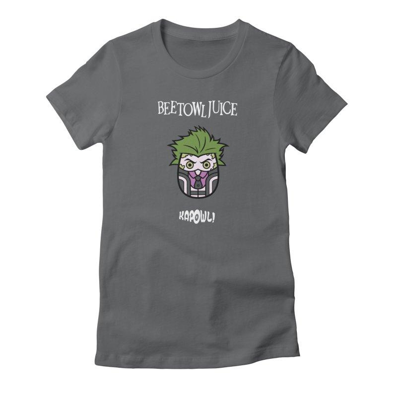 Beetowljuice Women's T-Shirt by Ian J. Norris