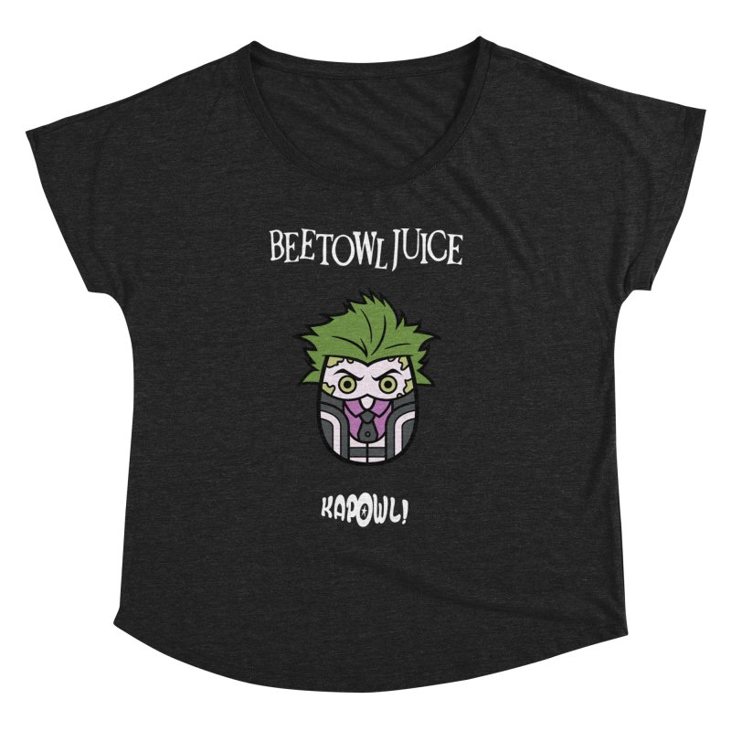 Beetowljuice Women's Scoop Neck by Ian J. Norris