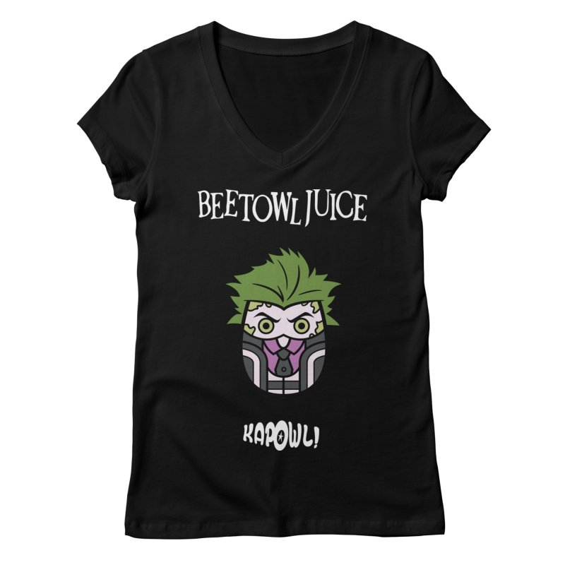 Beetowljuice Women's V-Neck by Ian J. Norris