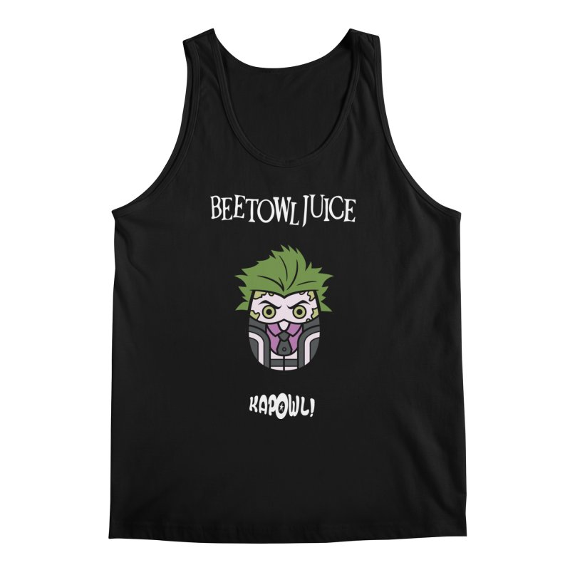 Beetowljuice Men's Regular Tank by Ian J. Norris