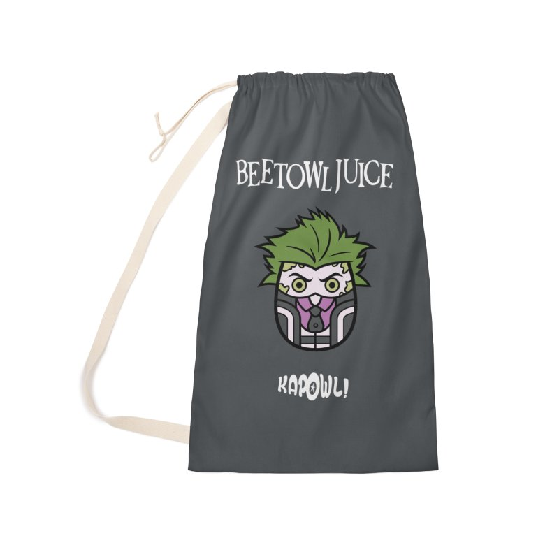 Beetowljuice Accessories Laundry Bag Bag by Ian J. Norris