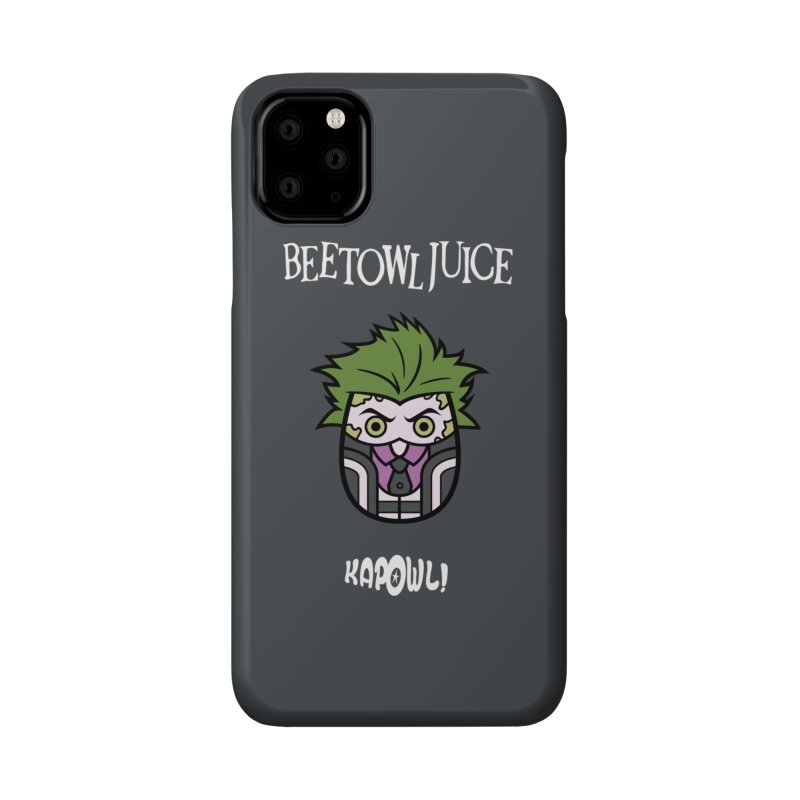 Beetowljuice Accessories Phone Case by Ian J. Norris