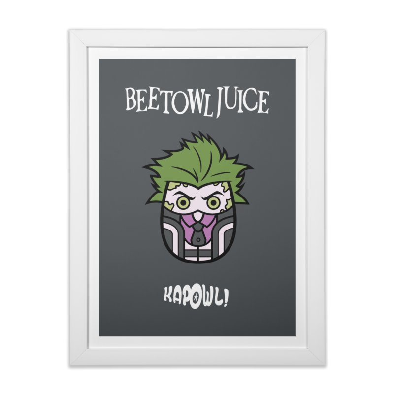 Beetowljuice Home Framed Fine Art Print by Ian J. Norris