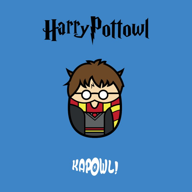 Harry Pottowl Kids T-Shirt by Ian J. Norris
