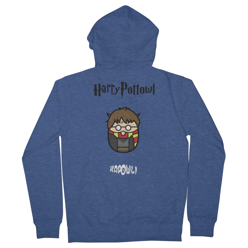 Harry Pottowl Men's Zip-Up Hoody by Ian J. Norris