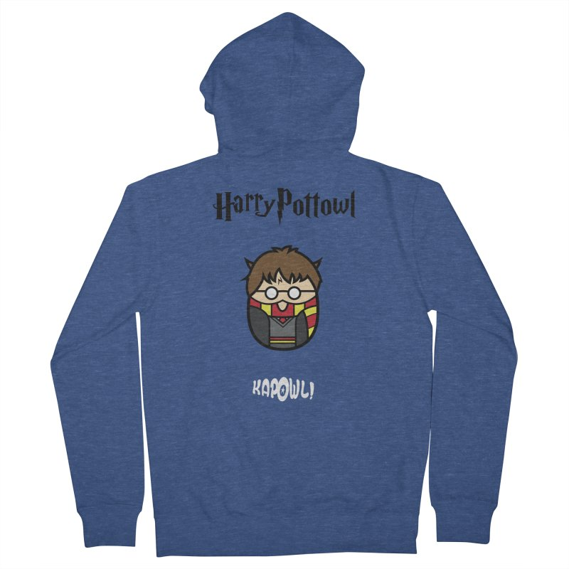 Harry Pottowl Men's French Terry Zip-Up Hoody by Ian J. Norris