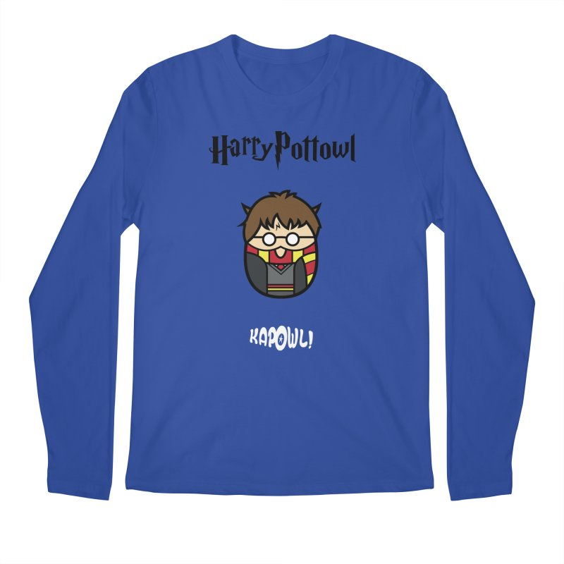 Harry Pottowl Men's Regular Longsleeve T-Shirt by Ian J. Norris