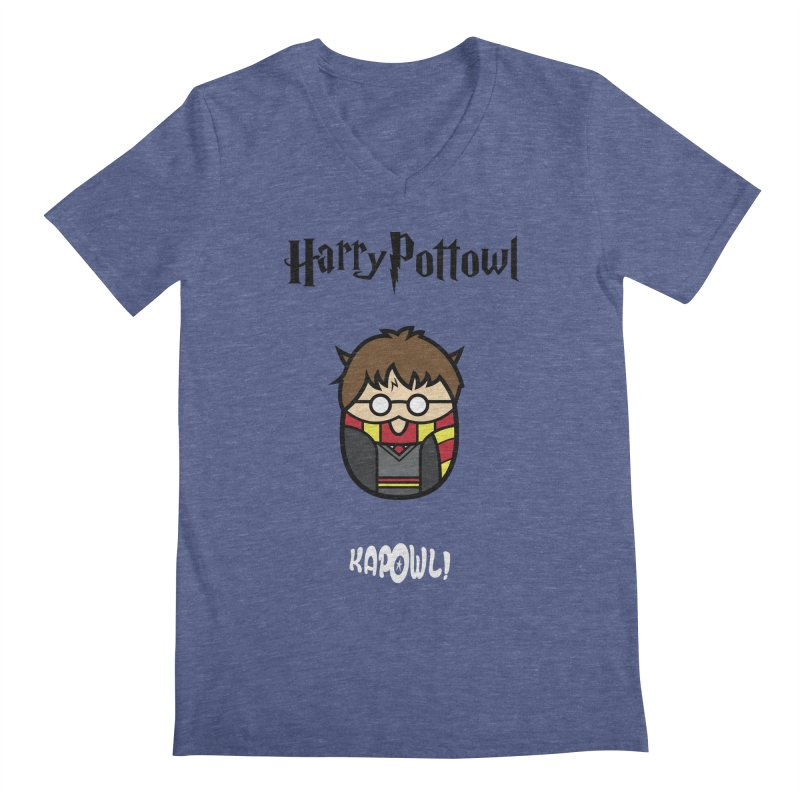 Harry Pottowl Men's Regular V-Neck by Ian J. Norris