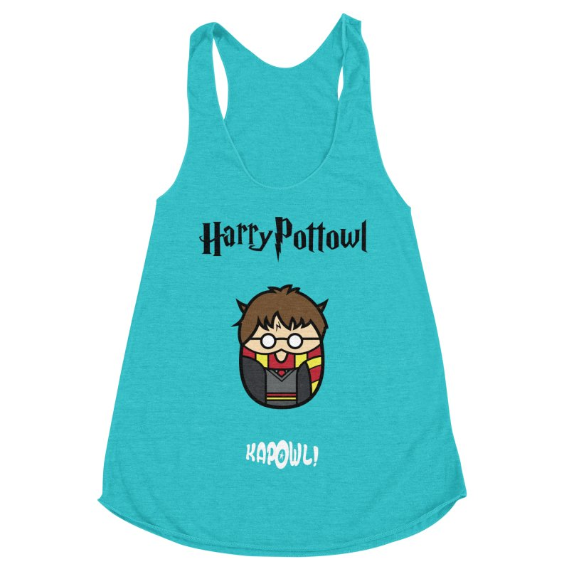 Harry Pottowl Women's Racerback Triblend Tank by Ian J. Norris