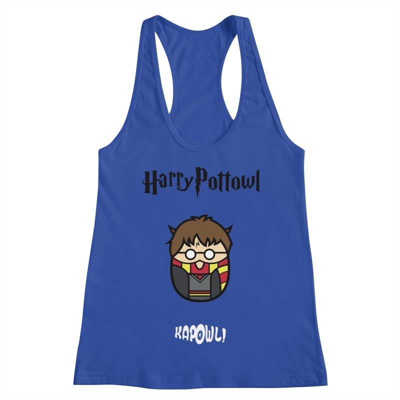 Harry Pottowl Women's Racerback Tank by Ian J. Norris